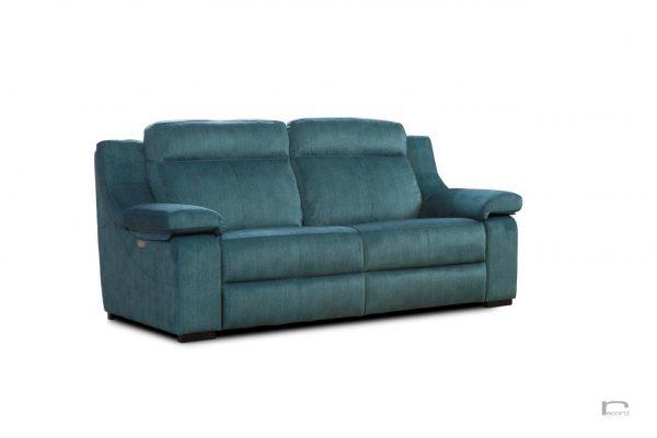Sofa su poilsio mechanizmais