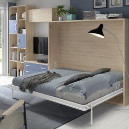 sieninė-lova-spintoje