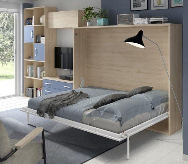 sienas-gulta-skapis