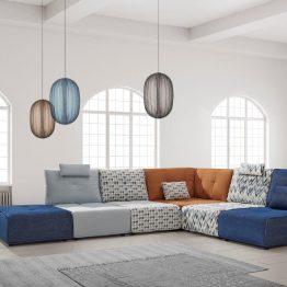 Modulinė-sofa-minkštasuolis