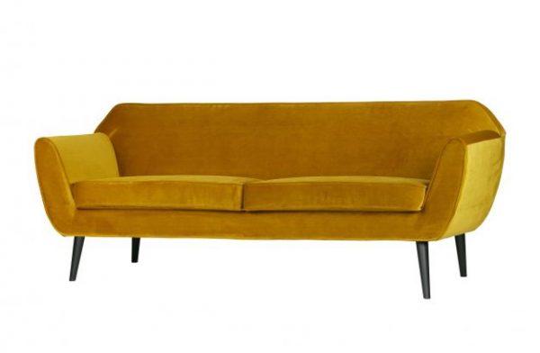 sofa-rokko-geltonas-aksomas