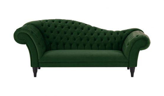 minkšti-baldai-namams-Chesterfield-žalia-klasikinė-sofa
