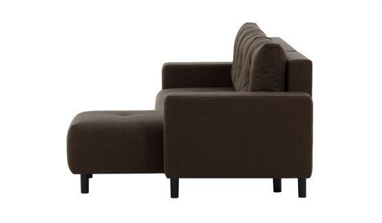 ruda-minkšta-kampinė-sofa