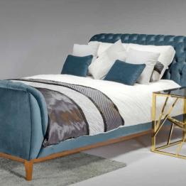 chesterfield tipo lova baldai namams monoidėja dvigulė miegamojo lova lovos angliško dizaino