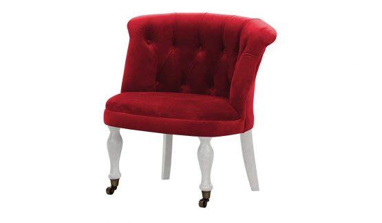 raudonas-klasikinis-krėslas-kėdė-fotelis