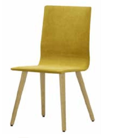 geltona-kėdė-baldai-namams -monoidėja