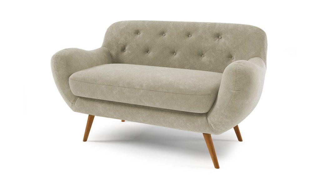 klasikinė-skandinaviško stiliaus sofa retro sofa
