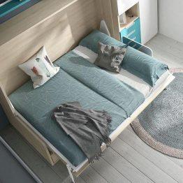 Dvigulė-miegamojo-lova-spintoje