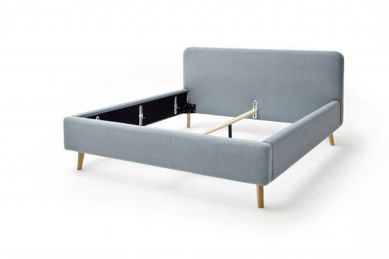 minkšta-dvigulė-miegamojo-lova-baldai-namams-monoidėja-skandinaviško-dizaino-lova-miegamajam-medžiaginė-lova