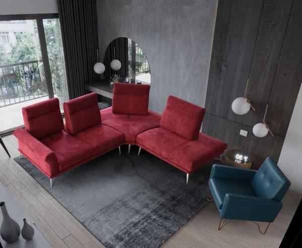 modulinės sofos baldai namams Monoidėja minkšti moduliniai itališki baldai modulinė sofa